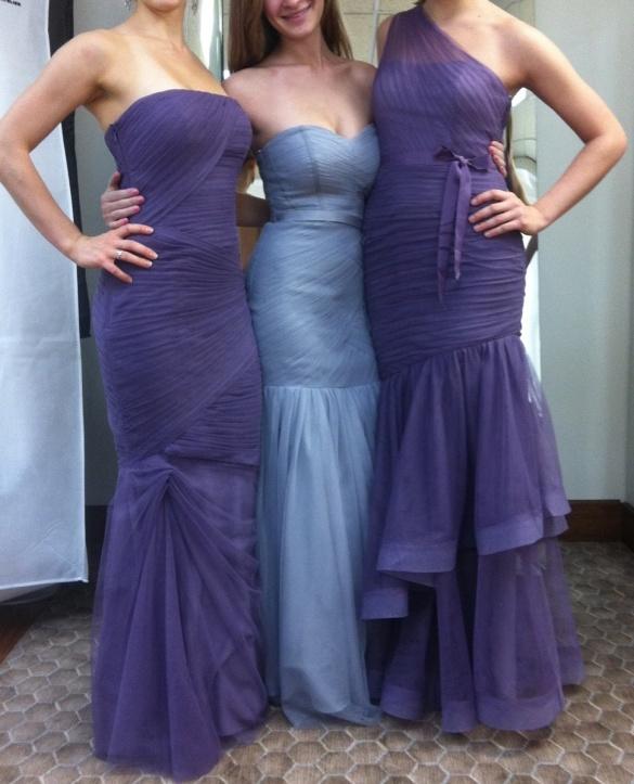 The dresses!