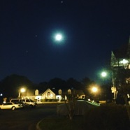 Nighttime in the Deep South.
