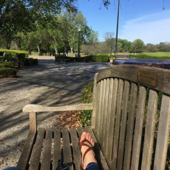 Ten minute break view.